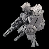 "alt=""Tau riptide smart missile pods assembled and mounted on a tau riptide battlesuit"""