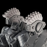 "alt=""Tau riptide smart missile pods assembled and mounted on a tau riptide battlesuit zoomed in view"""