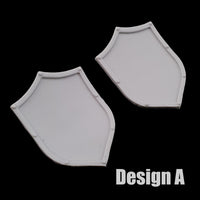 "alt=""imperial knight dominus shoulder mounted tilt shield design A"""