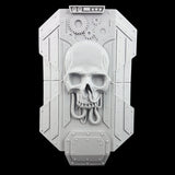 "alt=""mechanical skull imperial knight breach shield"""