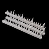 "alt=""scenic resin spikes all 60 that come in the set"""