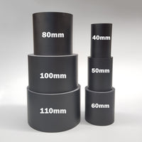 Round Resin Display Plinths - 65mm Tall