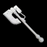 "alt=""imperial knight combat weapon handle shown with chain axe head"""