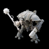 "alt=""imperial knight combat weapon handle and wreaking ball head being held in an imperial knight melee gauntlet hand on an assembled imperial knight"""