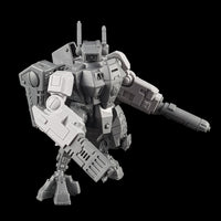 "alt=""tau crisis battlesuit alternative arms assembled on a games workshop t'au crisis battlesuit with plastic weapons"""
