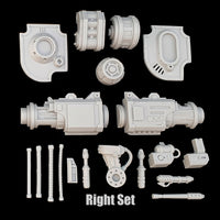 "alt=""imperial knight gun arm right hand side breakdown of components"""