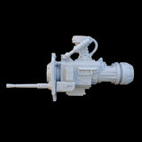 "alt=""imperial knight gun arm assembled with side stubber option"""