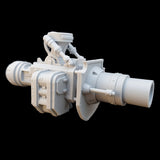 "alt=""imperial knight gun arm assembled with additional mortar barrel"""