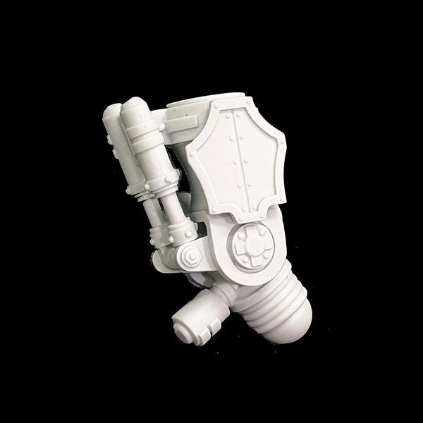 "alt=""imperial knight melee gauntlet upper joint assembled"""