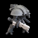 "alt=""imperial knight thermal cannon assembled on imperial knight"""