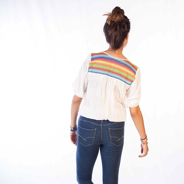 KB Rainbow Blouse