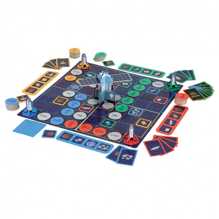 CODING SPACE MISSION BOARD GAME