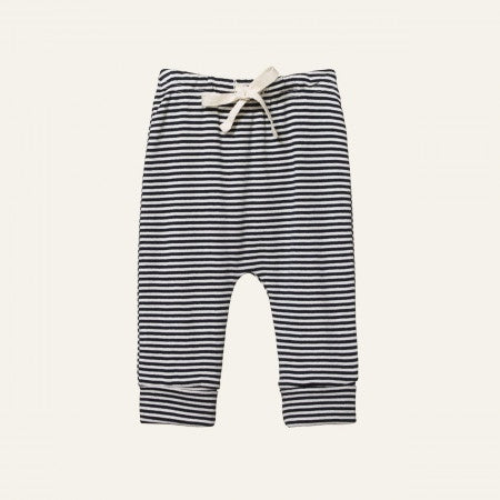 DRAWSTRING PANTS - NAVY STRIPE