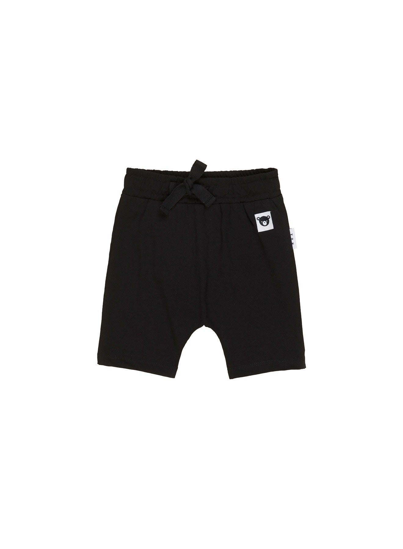 HUX BLACK SHORTS - KID