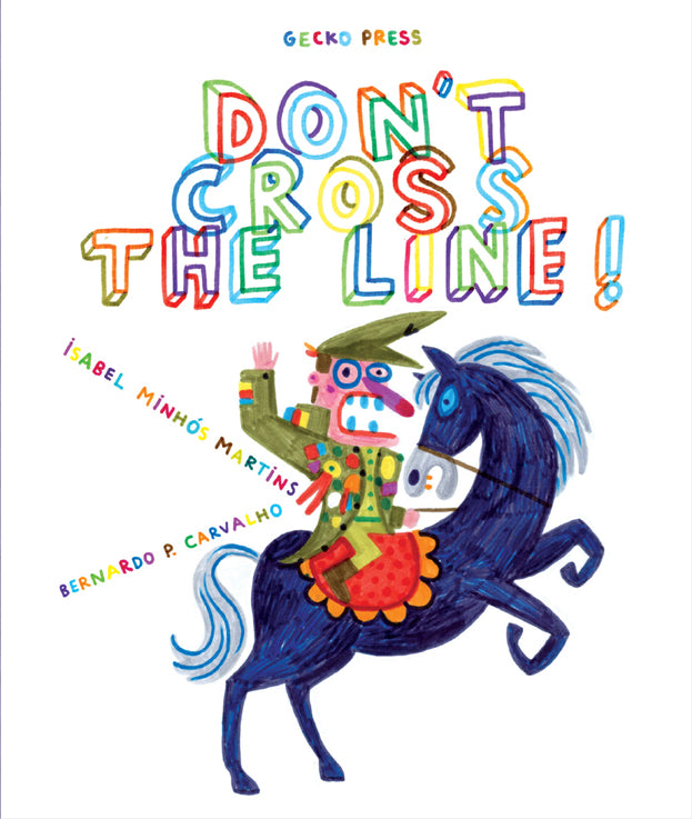 DONT CROSS THE LINE