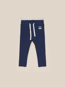 DARK BLUE RIB LEGGINGS KID