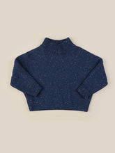 Load image into Gallery viewer, SPRINKLES KNIT JUMPER KID - DARK BLUE