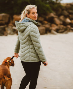MOKE LAUREN PACKABLE DOWN JACKET