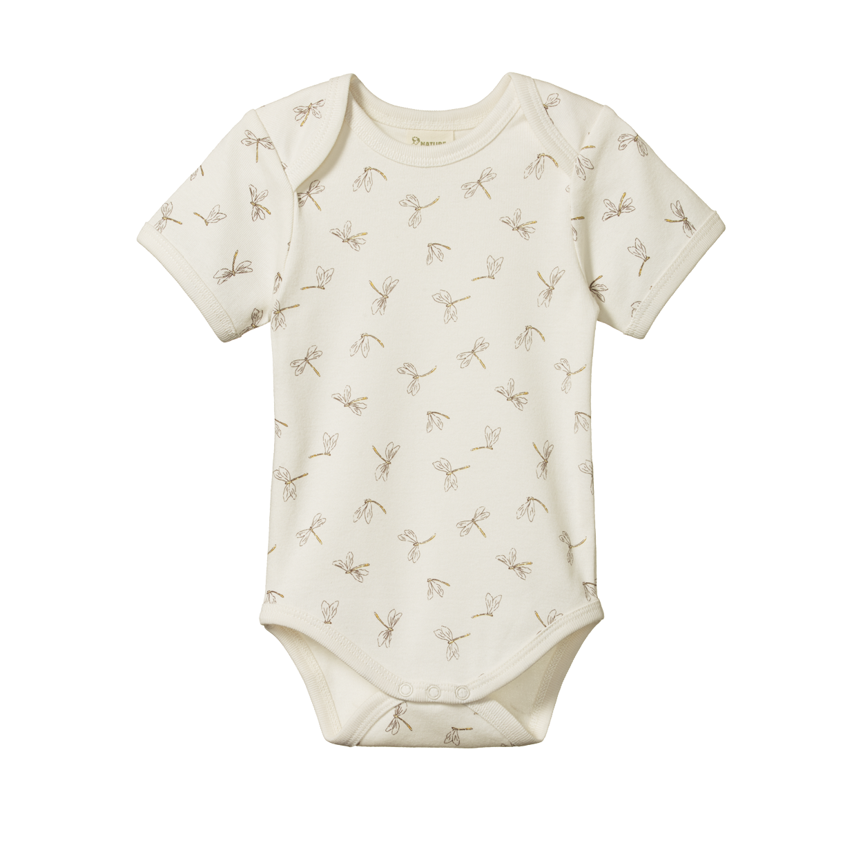 SHORT SLEEVE BODYSUIT - DRAGONFLY