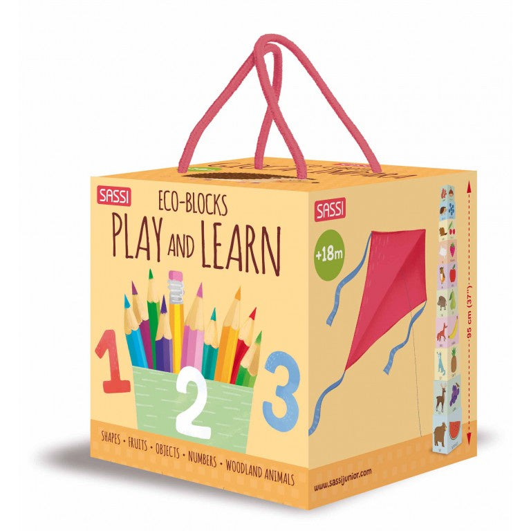 PLAY AND LEARN ECO-BLOCKS