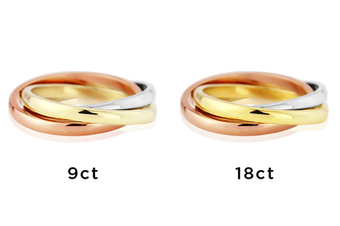9ct and 18ct Gold