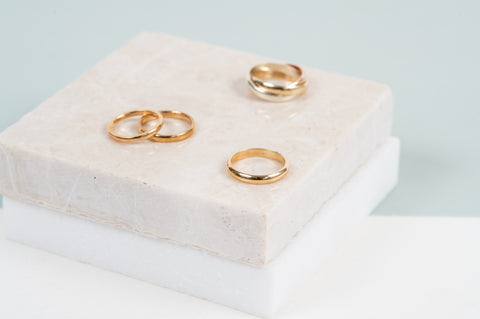 Gold Ringh Auree Jewellery
