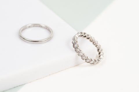 Wedding Ring and Eternity Ring