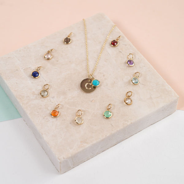 The Bali 9ct Gold Birthstone Collection