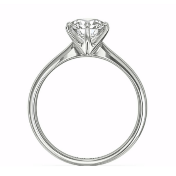 Cathedral Shank Ring