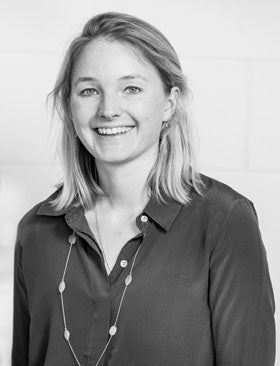 Lally manages marketing and brand partnerships at Auree