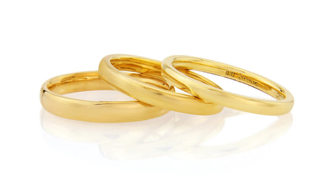 Gold Wedding Ring Auree Jewellery