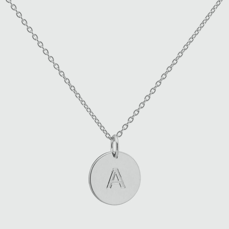 Westwick Sterling Silver Disc Pendant