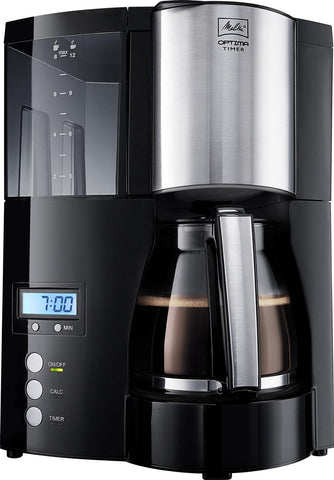 Melitta Optima Timer Nero