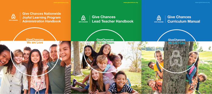 Give Chances has Launched our Manual Handbooks!