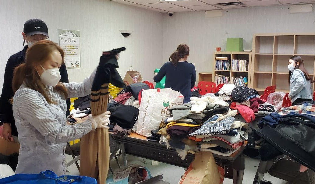 Clothing Drive that Warmed Our Hearts