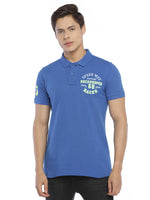 Rock Hooper Men's Solid Half sleeve Cotton Polo T-shirt