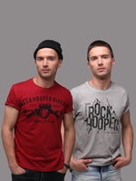 Rock Hooper - Men's Regular Fit Half Sleeve Printed Cotton T-shirt (Pack of 2)