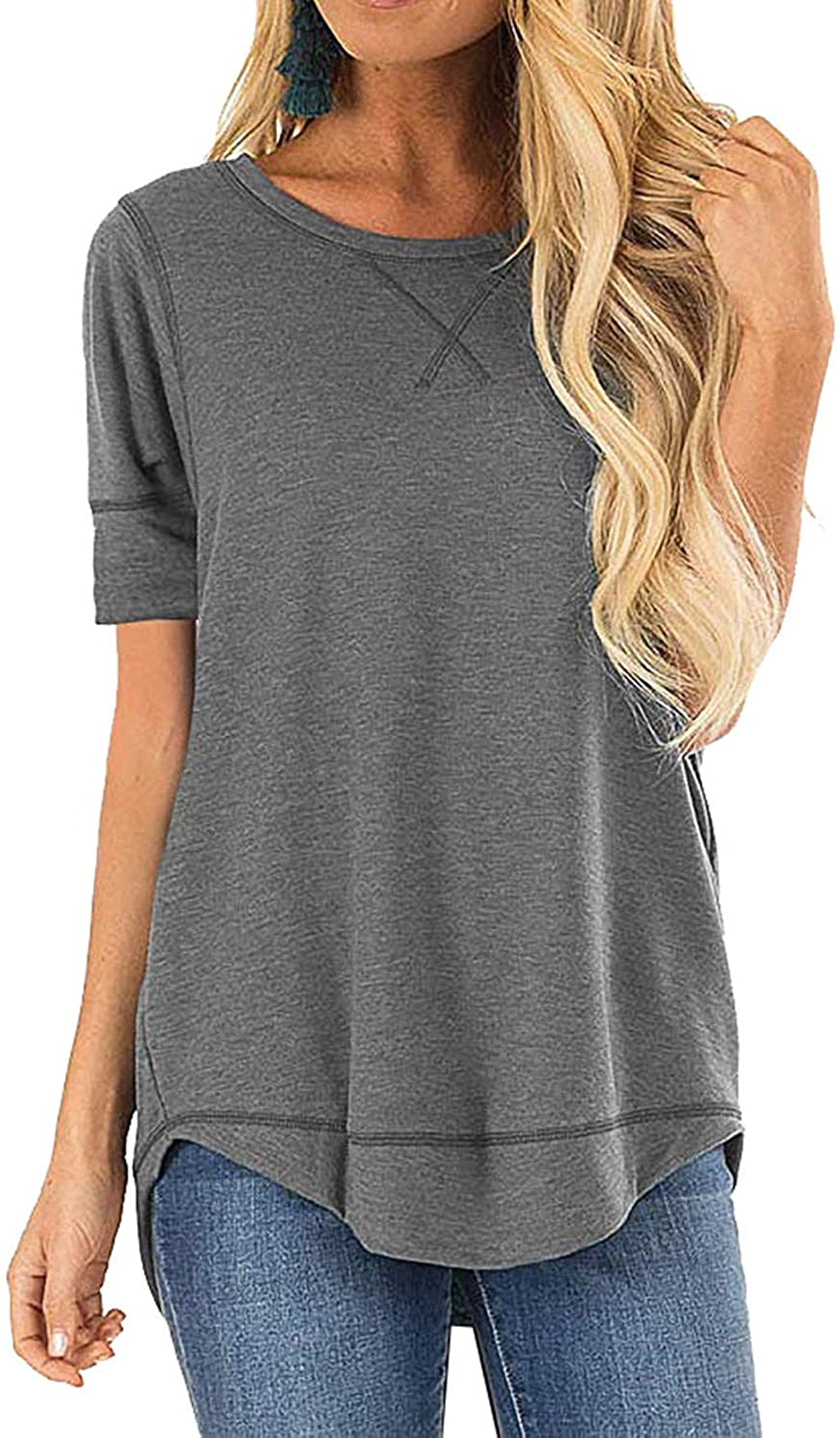 Haute Edition Causal Loose Fit Comfy Tops. Plus sizes avaiable