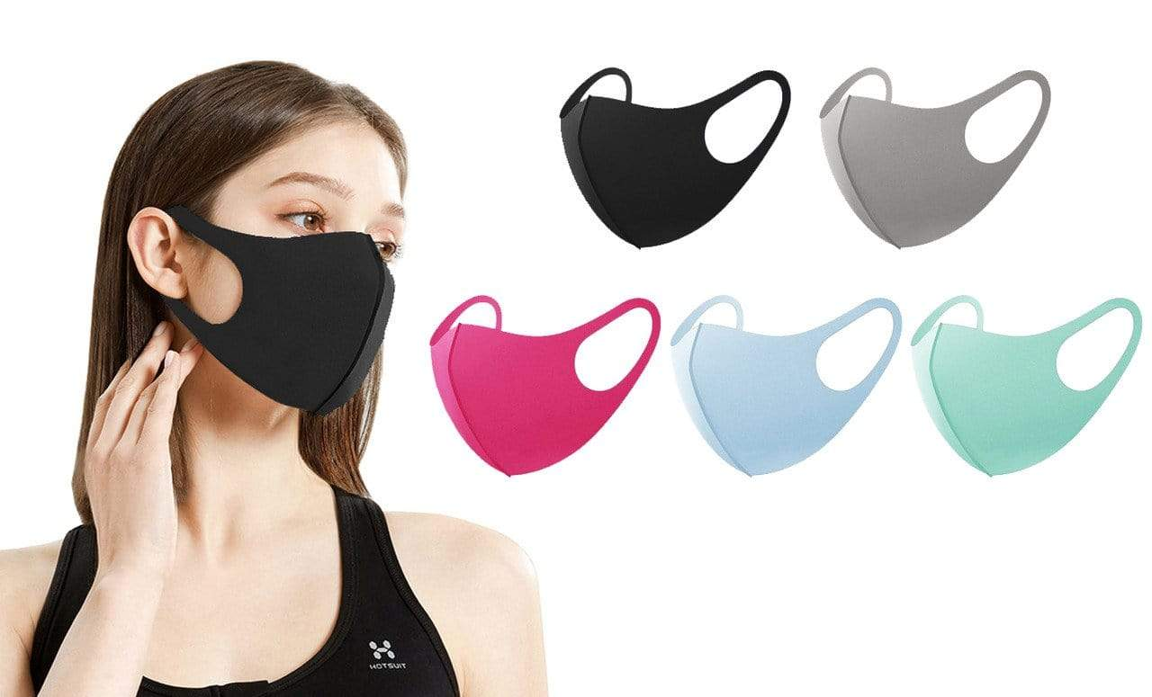 DAILYHAUTE FACE MASK MULTI-2 / 5 5 or 10-Pack Unisex Non-Medical Reusable Face Masks