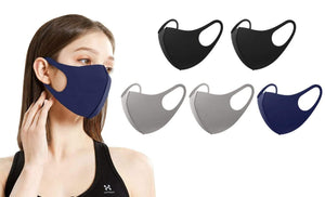 5 or 10-Pack Unisex Non-Medical Reusable Face Masks - DAILYHAUTE
