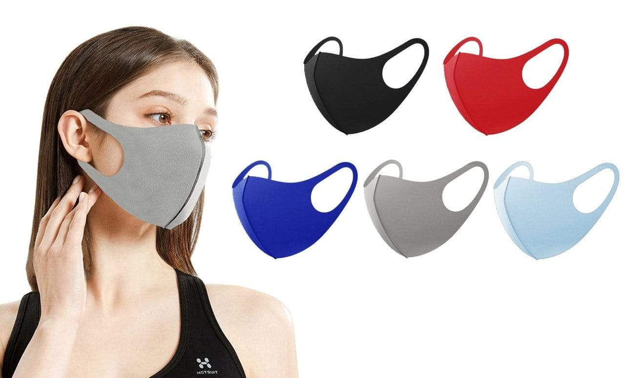 DAILYHAUTE FACE MASK MULTI-4 / 5 5 or 10-Pack Unisex Non-Medical Reusable Face Masks