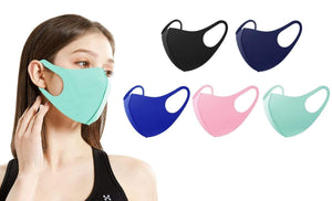 DAILYHAUTE FACE MASK MULTI-8 / 5 5 or 10-Pack Unisex Non-Medical Reusable Face Masks