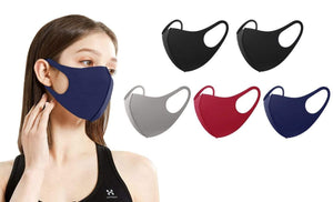 DAILYHAUTE FACE MASK MULTI-A / 10 5 or 10-Pack Unisex Non-Medical Reusable Face Masks