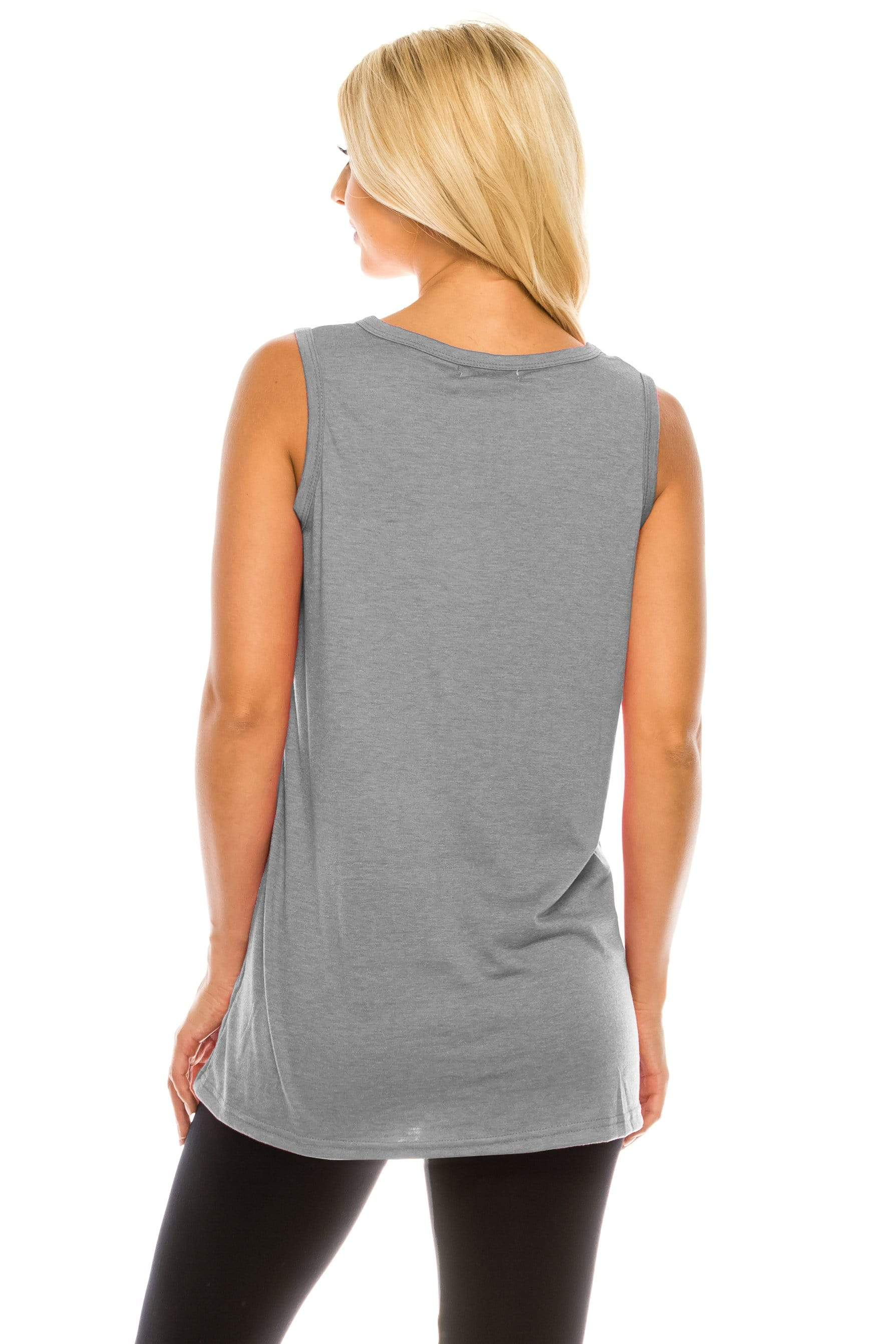 Haute Edition WOMEN'S TOP Haute Edition Women's Dog Mom Loose Fit Tank top. Plus size available
