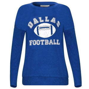 Haute Edition WOMEN'S TOP Haute Edition Women's Game Day Football Sweatshirt