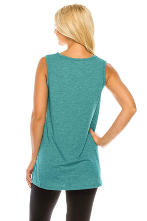 Haute Edition WOMEN'S TOP Haute Edition Women's Mama Bear Loose Fit Tank top. Plus size available