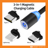 3-in-1 Magnetic Charging USB Cable (Buy One, Get One Free)