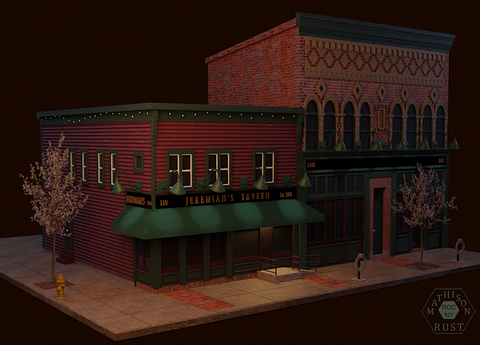 Jeremiah's Tavern - Quarter View
