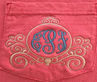 Monogrammed Carriage