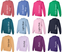 Monogrammed Sweatshirts - Made by Gildan!